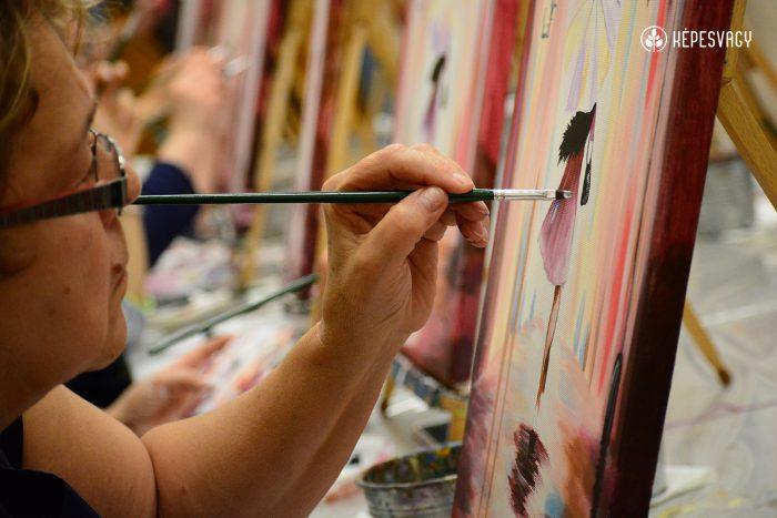 élményfestés kecskeméten rekreáció képesvagy festőest